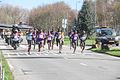 Black running men leaders marathon Rotterdam 2016.jpg