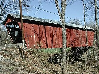 Lodi Township, Athens County, Ohio - Blackwood Covered Bridge