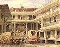Blossom's Inn, Lawrence Lane, 1850 (cropped).jpg