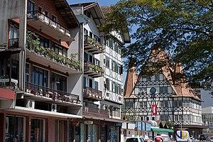 White Brazilians - Downtown Blumenau