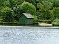 Boathouse on Glasshouses Mill Dam - geograph.org.uk - 1351565.jpg