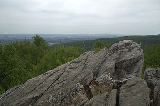 Catoctin Trail - View from South Bob's Hill Overlook in Cunningham Falls State Park
