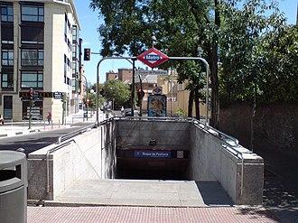 Duque de Pastrana (Madrid Metro) - Image: Boca Metro Duque Pastrana DSC00381