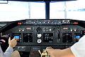Boeing 737-800 Flugsimulator – CeBIT 2016 01.jpg