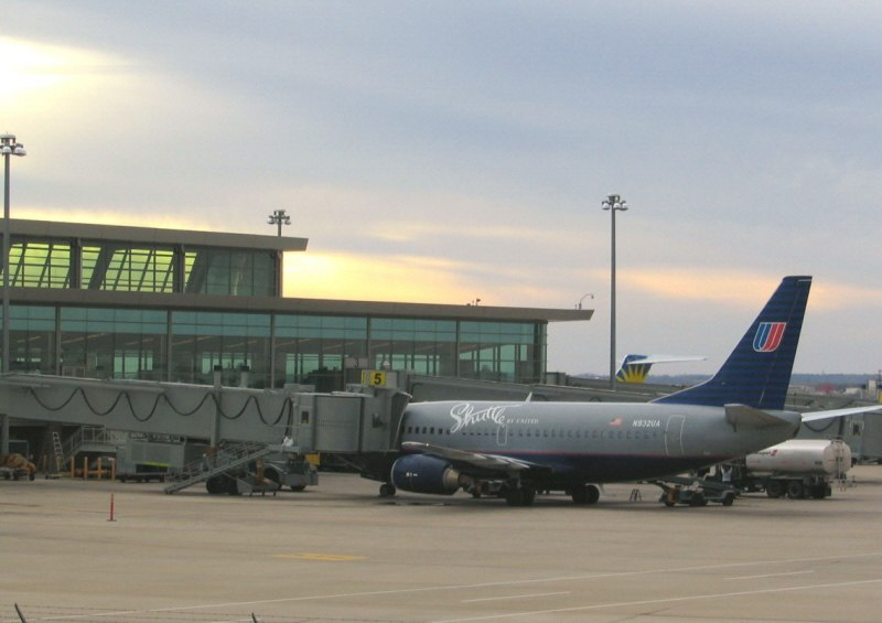 Boeing 737 at Oklahoma City airport