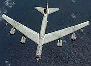 Boeing B-52H Aspect ratio