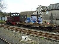 Boflat wagon on Talyllyn Railway - 2008-03-18.jpg