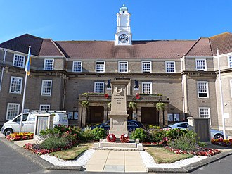 Arun District - Bognor Regis Town Hall, Arun's civic offices in Bognor Regis
