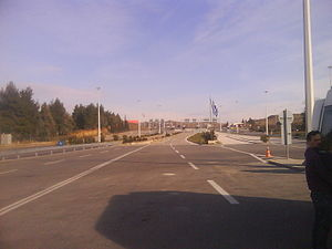 Evzonoi - The border crossing to the Republic of Macedonia