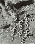 Bombardement op vliegveld Leeuwarden door B-26 Marauder bommenwerpers.jpg