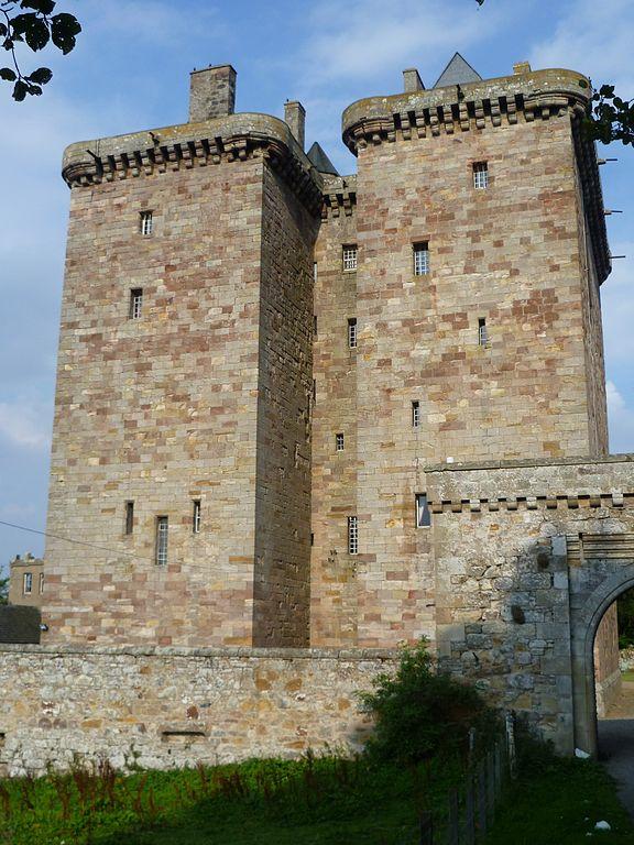 Fortified Borthwick castle