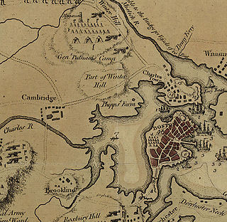 Fortification of Dorchester Heights Military action of the American Revolutionary War