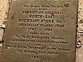 Boundary Stone (District of Columbia) NE 1 plaque.jpg