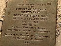 Boundary Stone (District of Columbia) NE 1 plaque.jpg