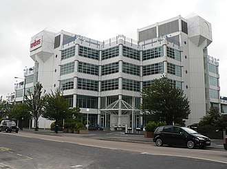 Financial services are crucial to the town's economy and Unisys was a major employer in the industry. Bournemouth, 100 Holdenhurst Road - geograph.org.uk - 878826.jpg