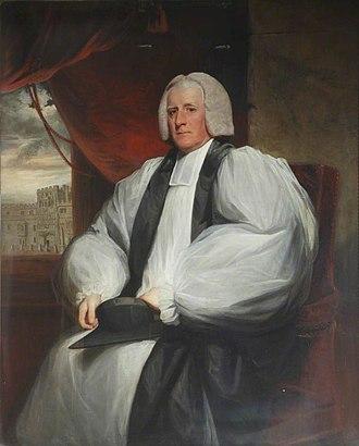 William Cleaver - Bishop Cleaver by John Hoppner.