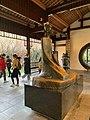 Brązowa rzeźba Du Fu w Holu Domu Du Fu w Chengdu.jpg