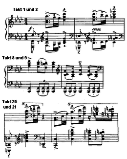 exemple partition Brahms