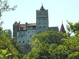 Le château de Bran qui est souvent, à tort, associé au comte Dracula