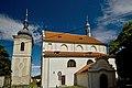 Brandýs n. L. kostel Obrácení sv. Pavla 1.jpg