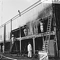 Brand op Sparta-tribune, gedeelte overdekte werd omlaag gehaald, Bestanddeelnr 919-3015.jpg