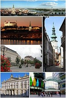 Bratislava Capital city in Slovakia