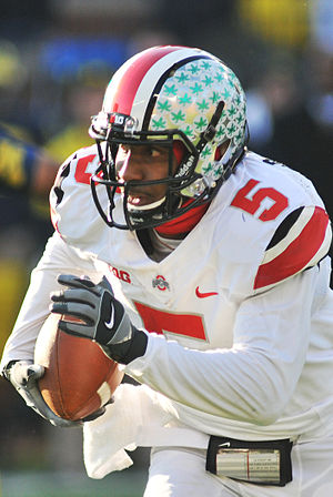 Braxton Miller - Miller with the Ohio State Buckeyes in 2013
