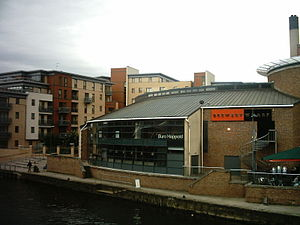 Tetley's Brewery - Brewery Wharf; the building shown was formerly the Brewery Museum.