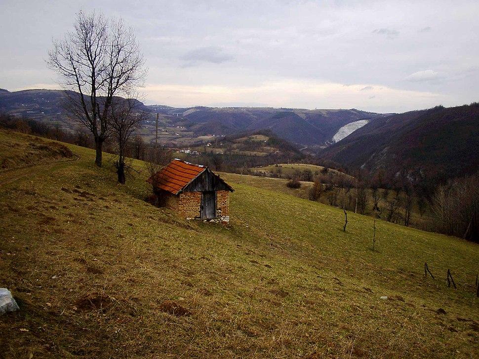 Brezovice - opština Valjevo - zapadna Srbija - panorama 9