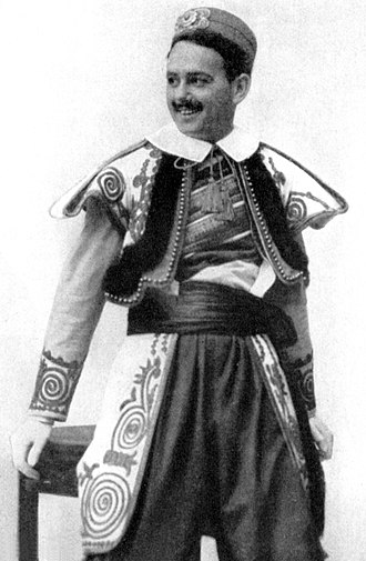 Donald Brian - Donald Brian in the original Broadway production of The Merry Widow (1907)