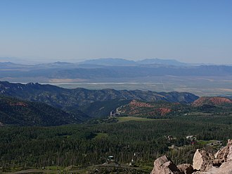 Brian Head Peak - Image: Brian Head Peak view 1