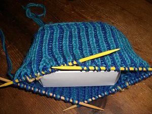 Brioche knitting - Two-color Brioche knitting