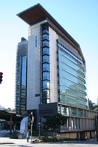 Magistrates Court of Queensland - The Brisbane Magistrates Court building, a location of the Magistrates Court
