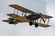 Bristol F2B D8096 flying 1