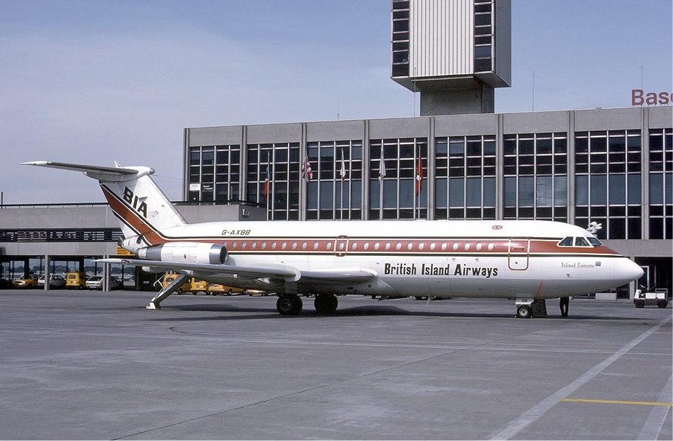 British Island Airways at Basle - 1985