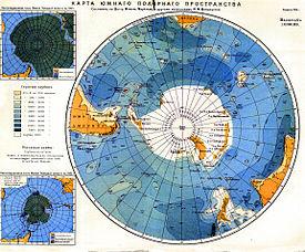 Где находится на глобусе антарктида