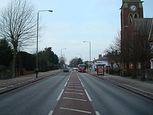 A21 road (England) - A21 in Bromley, London