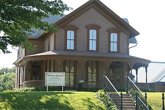 William Manatt House - Image: Brooklyn Iowa 20090802 William Manatt House