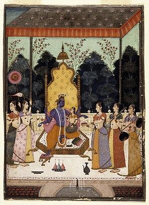 Vaikuntha -  A Vision of Vishnu (Vaikuntha Darshana) - Brooklyn Museum