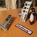 Brownshoesonly Triple Video LFO - hope you like to #wiggle cuz we got lotz eurorack LZX Industries standard LFO Penguin town thanks for the patch @brownshoesonly ^^ (by j bizzie) 2014-03-17.jpg