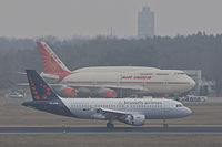 OO-SSV - A319 - Brussels Airlines