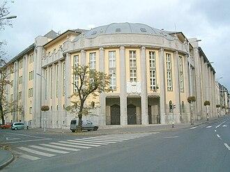 Kőbánya - The famous Szent László Gimnázium