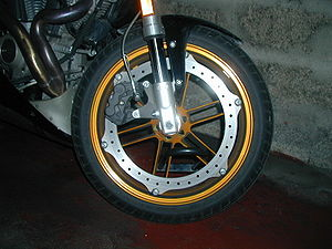 Buell Motorcycle Company - Buell ZTL front brake