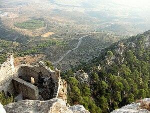 Buffavento Castle - Image: Buffavento castle, Cyprus