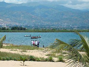 Wildlife of Burundi - Bujumbura on the banks of Lake Tanganyika.