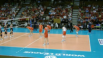 Bulgaria men's national volleyball team - The Bulgaria National Team at the 2011 FIVB World League Defeating Asian Giants Japan