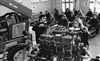 4 VD 14,5/12-1-SRW-Schnittmodell in einer Lehrlingswerkstatt (1975)
