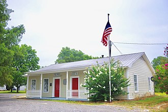 Burdette, Arkansas - Post office and Burdette Farms office