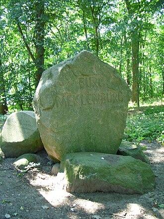 Mecklenburg Castle - Memorial for Mecklenburg Castle in Dorf Mecklenburg, Germany