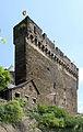 Burg Schönburg Oberwesel, äußere Mantelmauer der Kernburg (a).jpg